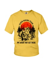 Sloth Hiking Team Youth T-Shirt tile