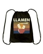 Llamen Funny Drawstring Bag thumbnail