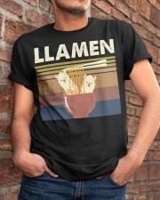 Llamen Funny Classic T-Shirt apparel-classic-tshirt-lifestyle-26