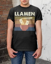 Llamen Funny Classic T-Shirt apparel-classic-tshirt-lifestyle-31