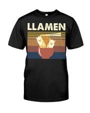 Llamen Funny Classic T-Shirt front