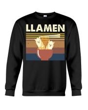 Llamen Funny Crewneck Sweatshirt thumbnail