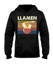 Llamen Funny Hooded Sweatshirt thumbnail