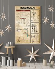 Plumber Knowledge 11x17 Poster lifestyle-holiday-poster-1