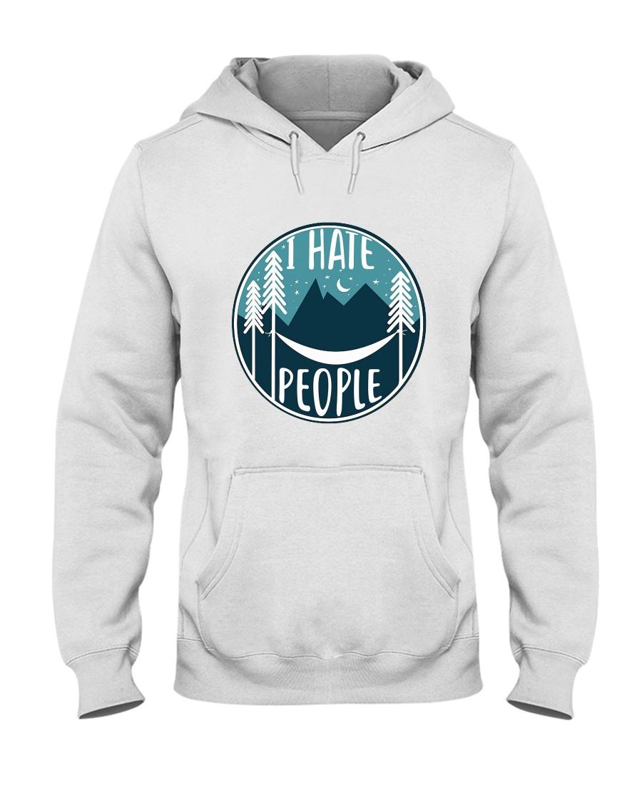T Hate People Hooded Sweatshirt