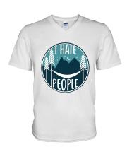 T Hate People V-Neck T-Shirt thumbnail