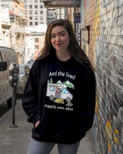 Happily Ever After Hooded Sweatshirt lifestyle-unisex-hoodie-front-1