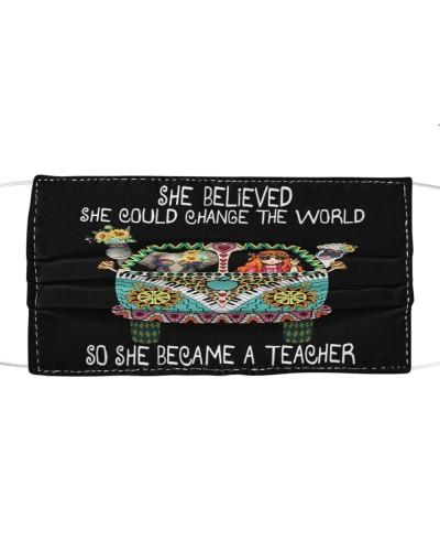 She Became A Teacher