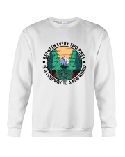 Between Every Two Pines Crewneck Sweatshirt thumbnail