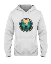 Between Every Two Pines Hooded Sweatshirt front