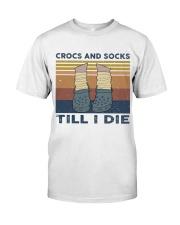 Crocs And Socks Classic T-Shirt thumbnail