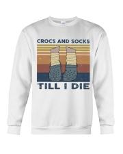 Crocs And Socks Crewneck Sweatshirt thumbnail