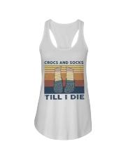Crocs And Socks Ladies Flowy Tank thumbnail