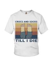 Crocs And Socks Youth T-Shirt thumbnail