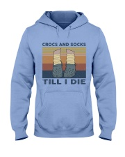 Crocs And Socks Hooded Sweatshirt front