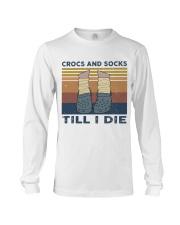 Crocs And Socks Long Sleeve Tee thumbnail