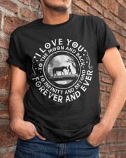 I Love You To The Moon Classic T-Shirt apparel-classic-tshirt-lifestyle-26