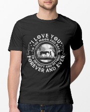 I Love You To The Moon Classic T-Shirt lifestyle-mens-crewneck-front-13