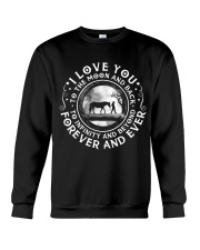 I Love You To The Moon Crewneck Sweatshirt thumbnail