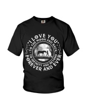 I Love You To The Moon Youth T-Shirt thumbnail