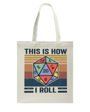 This I How I Roll Tote Bag thumbnail