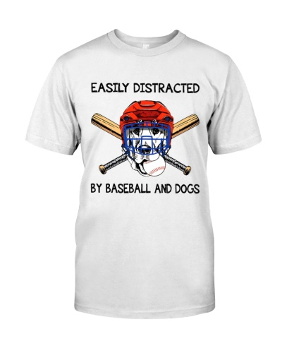 Baseball And Dogs