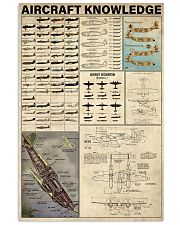 Aircraft Knowledge 11x17 Poster front