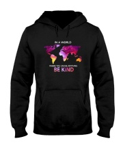 Be Kind In A World Hooded Sweatshirt front
