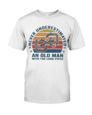 An Old Man With The Long Pipes Premium Fit Mens Tee thumbnail