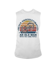 An Old Man With The Long Pipes Sleeveless Tee thumbnail