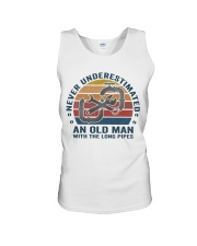 An Old Man With The Long Pipes Unisex Tank thumbnail