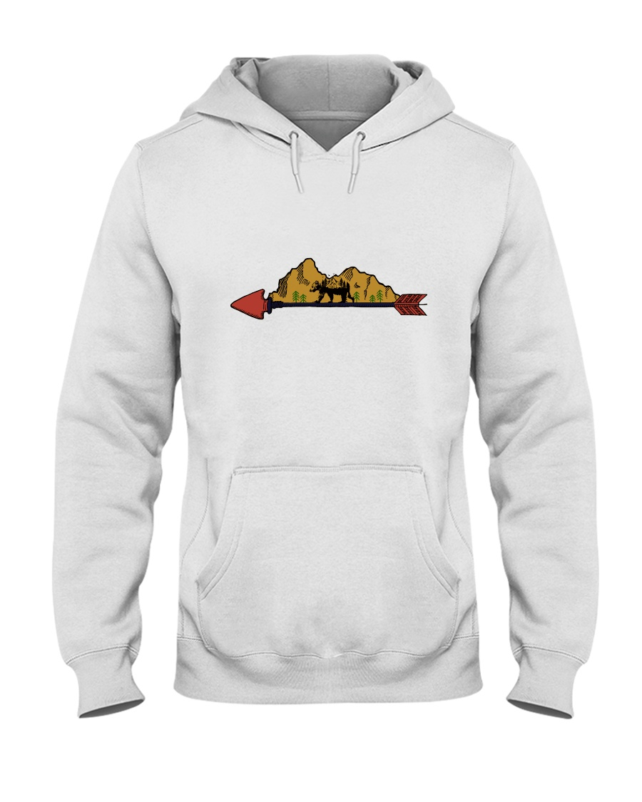 Camping Life Hooded Sweatshirt