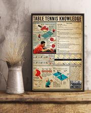Table Tennis Knowledge 11x17 Poster lifestyle-poster-3