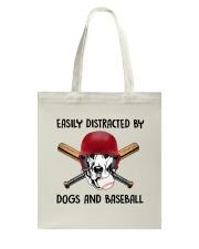 Dogs And Baseball Tote Bag thumbnail