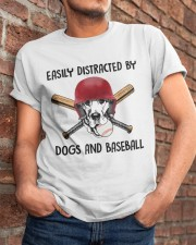 Dogs And Baseball Classic T-Shirt apparel-classic-tshirt-lifestyle-26