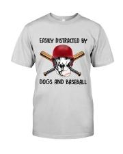 Dogs And Baseball Premium Fit Mens Tee thumbnail