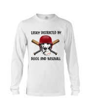 Dogs And Baseball Long Sleeve Tee thumbnail