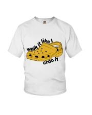 Walk It Like Croc It Youth T-Shirt thumbnail
