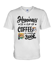Happiness Is V-Neck T-Shirt thumbnail