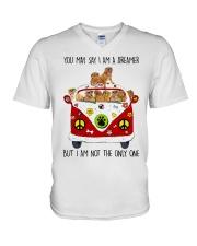 Dogue De Bordeaux V-Neck T-Shirt thumbnail