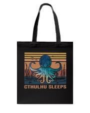 Cthulhu Sleeps Tote Bag thumbnail
