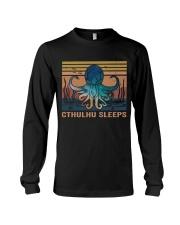 Cthulhu Sleeps Long Sleeve Tee thumbnail