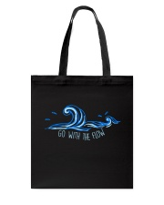 Go With The Flow Tote Bag thumbnail