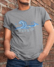 Go With The Flow Classic T-Shirt apparel-classic-tshirt-lifestyle-26