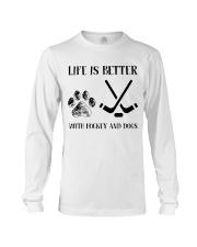 Hockey And Dogs Long Sleeve Tee thumbnail