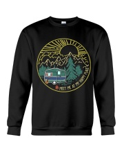 Meet Me At My Happy Place Crewneck Sweatshirt thumbnail