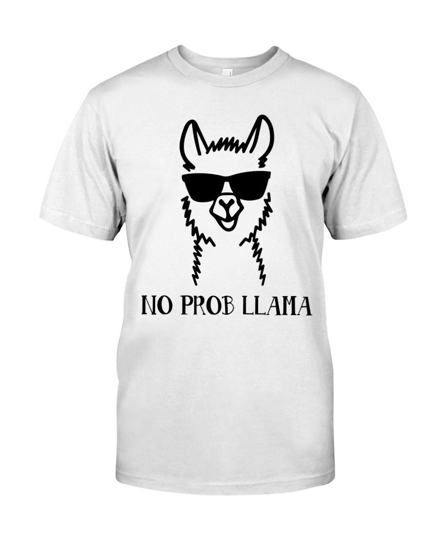 No Prob Llama Classic T-Shirt