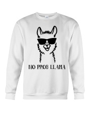 No Prob Llama Crewneck Sweatshirt thumbnail