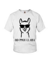 No Prob Llama Youth T-Shirt thumbnail