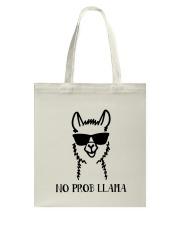 No Prob Llama Tote Bag thumbnail